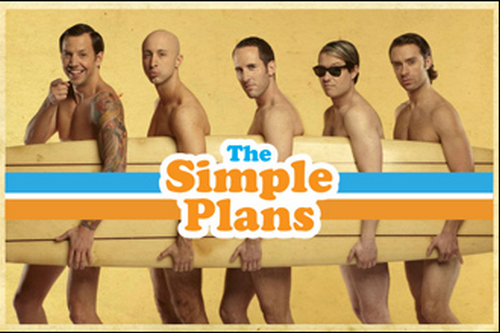 Official poster of the preorder! » Simple Plan Brasil