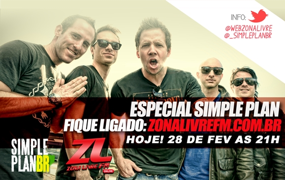 Simple Plan Zona Livre