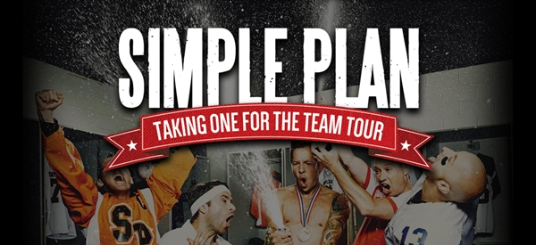 Simple Plan Post-Game VIP package - Pizza Party