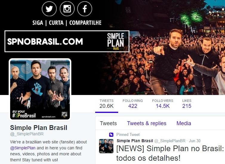 Simple Plan no Brasil Pré Venda Desconto Exclusivo
