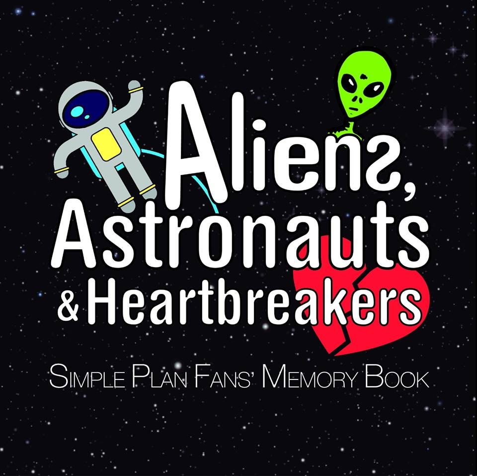 aliens-astronauts-heartbreakers-simple-plan-fans-memory-book-livro